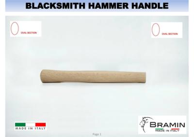 BLACKSMITH HAMMER HANDLE