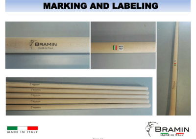 MARKING AND LABELING